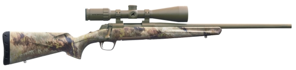 Repetierbüchse Browning X-BOLT ATACS CERAKOTE mit Kite ZF 2-12x50 LA 4 + Montage Kaliber .308 Win